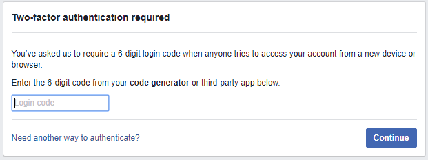 Enter Login Code