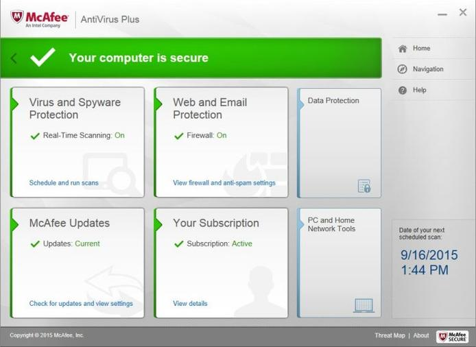 McAfee AntiVirus Plus - Best Antivirus protection tools