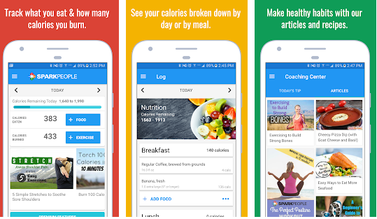 Calorie Counter & Diet Tracker- Spark People