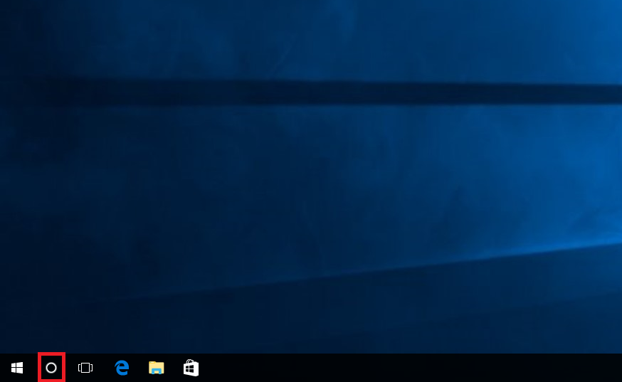 windows 10 search bar not showing