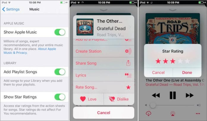 iOS 11 Revamped-Apple-Music