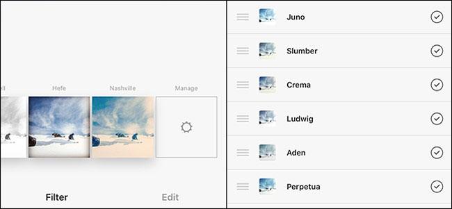 Organising Pictures Instagram