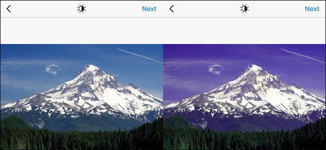 Original vs Edited Instagram