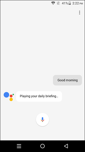 Google-Assistant Get-a-Daily-Brief-of-Your-Schedule