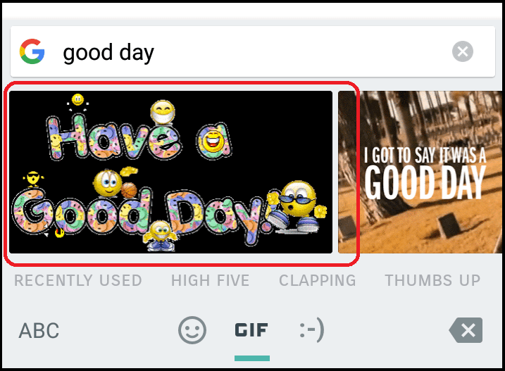 GIF Search Gboard For Android