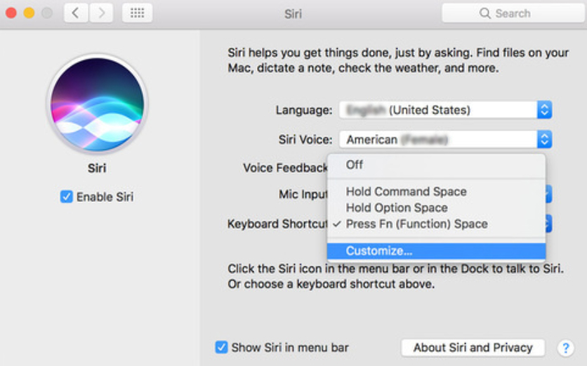 How to setup Dictation on macOS Sierra