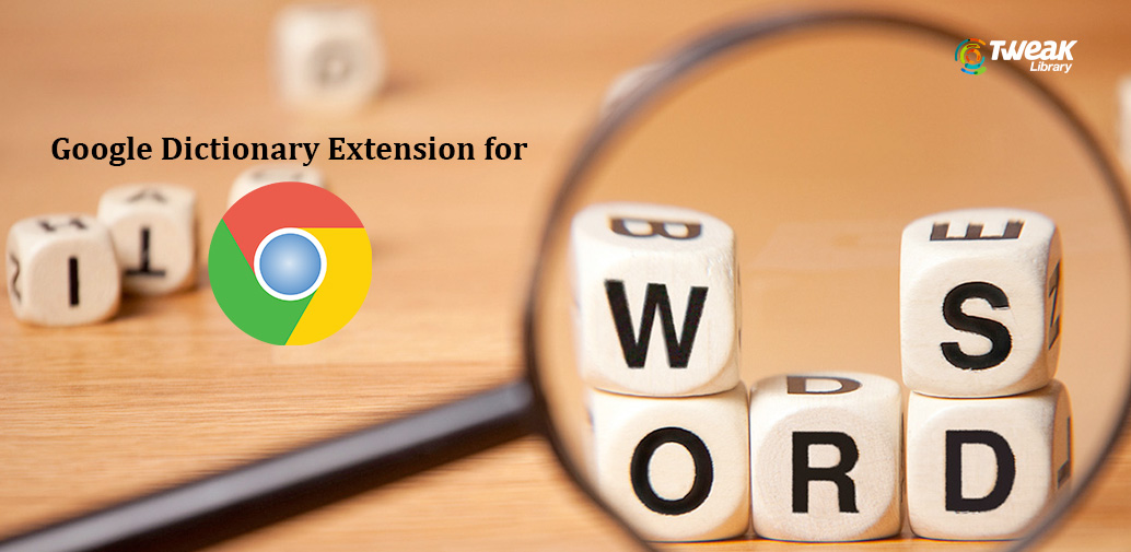 How to use google dictionary extension?