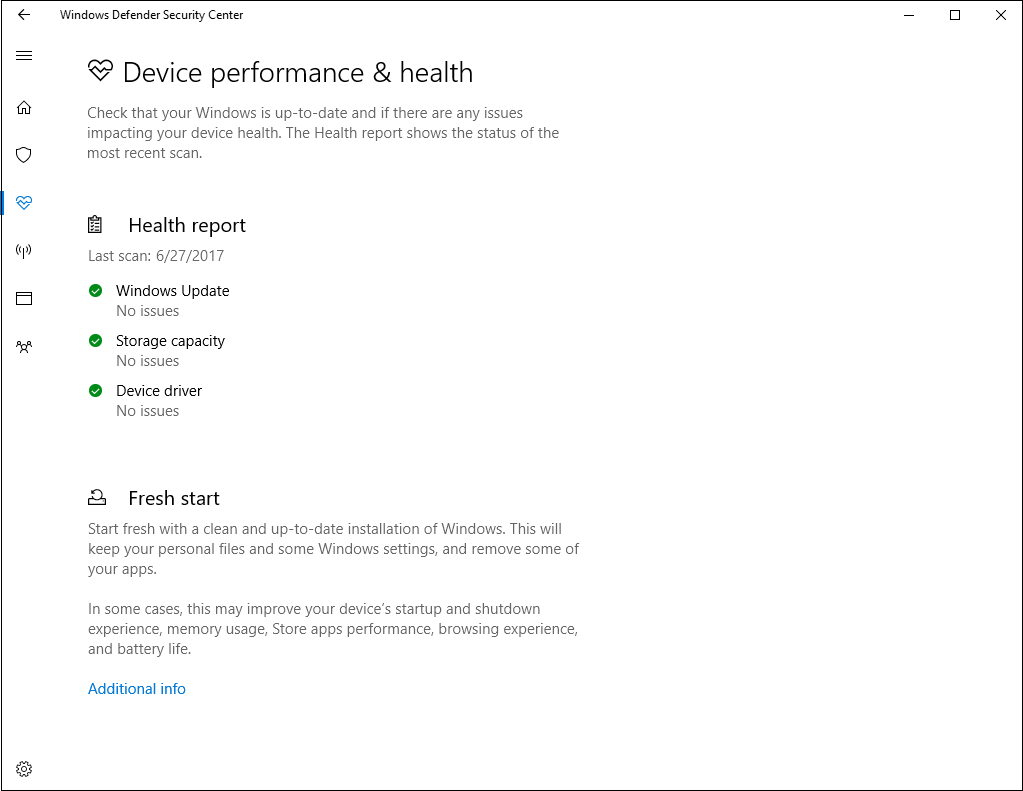 device health