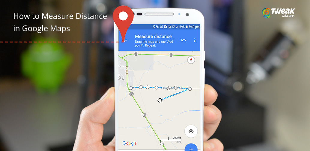 How to Measure Distance in Google Maps