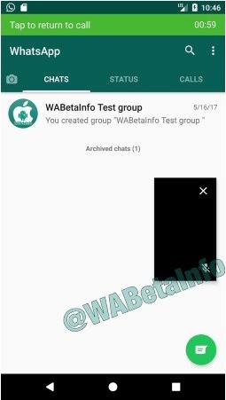 pip in whatsapp