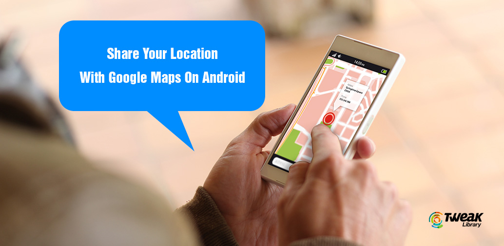 share-location-google-map-android