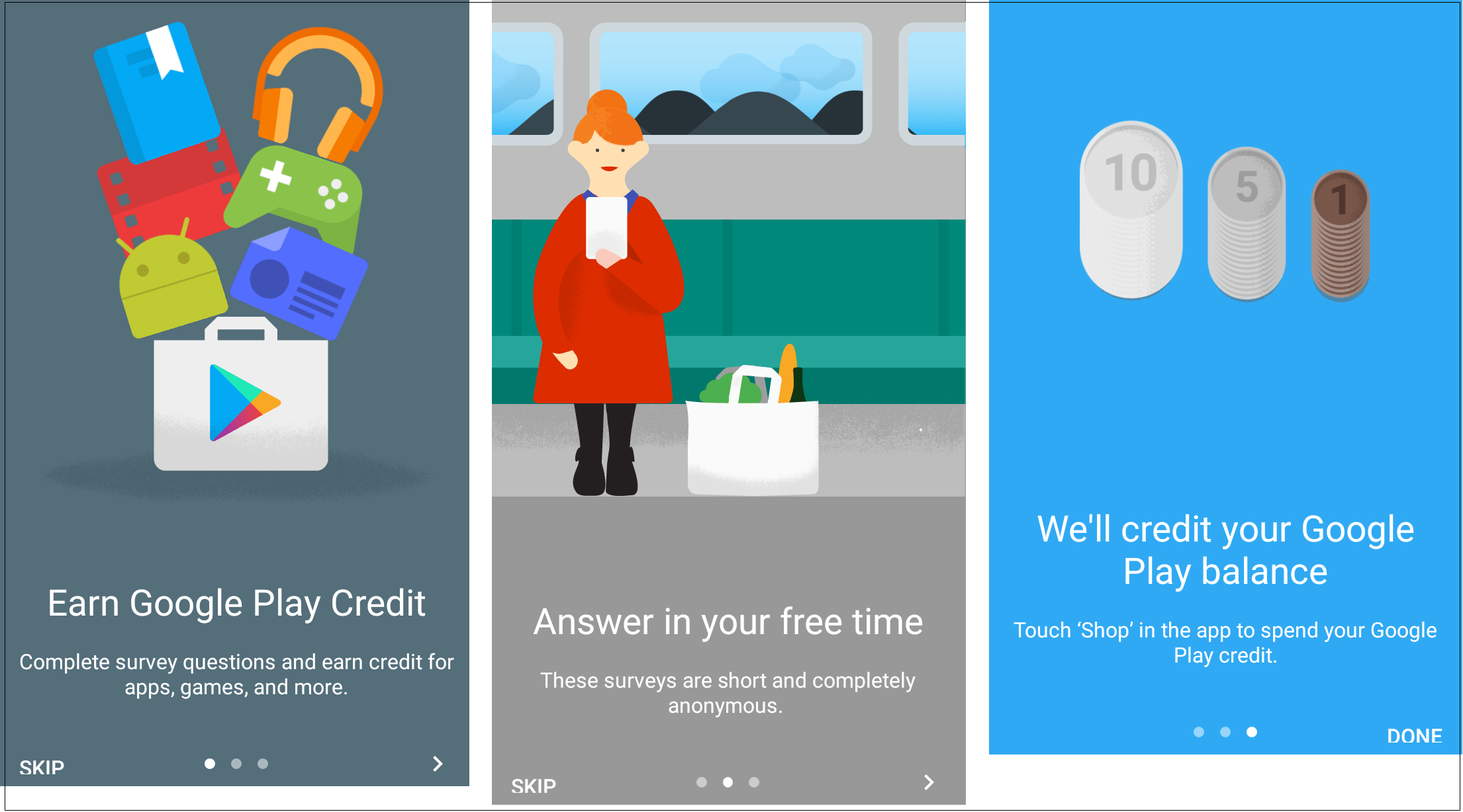 how to use your google play credit