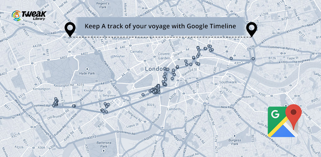 Google Timeline Track The Routes You Have Traveled - Where i have traveled map