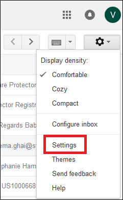 Click settings